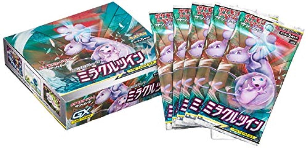 [해외] 포켓몬 카드 게임 썬&문 확장 팩「 미러클e 트윈」 BOX