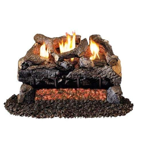 G18 Series Vent Free Evening Fyre Charred Standard Logs - 24 inch