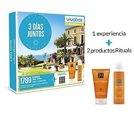 VIVABOX Caja Regalo -3 DÍAS Juntos- 1.780 estancias. Incluye ...