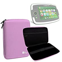 "DURAGADGET Pink ""Tough"" Hard Case For LeapFrog LeapPad Platinum / LeapPad Ultra / LeapPad Ultra XDI / LeapPad GLO With Soft Inner Lining & Netted Pocket"