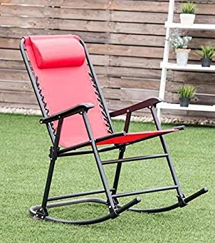 Amazon.com: Oasis Outdoor- Silla plegable Freestyle Rocker ...