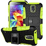 Cable And Case Galaxy S5 Case Green Ultra Tough Protection For Your Samsung Galaxy S5 Phone