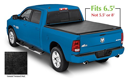 Lund 95064 Genesis Tri-Fold Truck Bed Tonneau Cover for 2002-2018 Dodge Ram 1500; 2003-2018 Ram 2500, 3500 | Fits 6.5' Bed (Excludes Models w/RamBox)