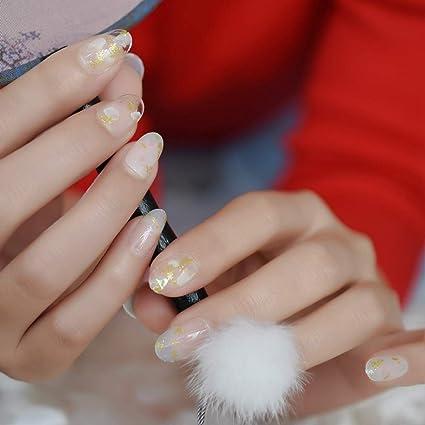Meiyy Decoración De Uñas Cristal Roto Decorado Uñas Falsas
