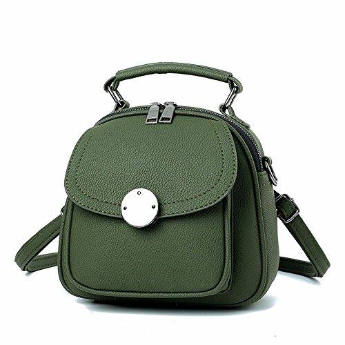 MSZYZ Regalos Bolso Bolso Bolso Simple Gris green