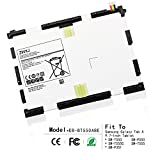 ZWXJ Replacement Battery EB-BT550ABE(3.8V 22.8WH 6000MAH)For Samsung Galaxy Tab A 9.7-Inch Tablet SM-T550 SM-P550 SM-T555C SM-T555 T550 T555 P550