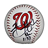 Bryce Harper Washington Nationals Signed Autographed Rawlings Major League Logo Baseball