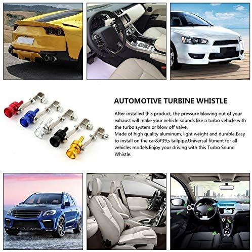 ukYukiko Universal Auto Turbo Sound Whistle Simulator Schallrohr Auspuff Schalld/ämpfer Rohr