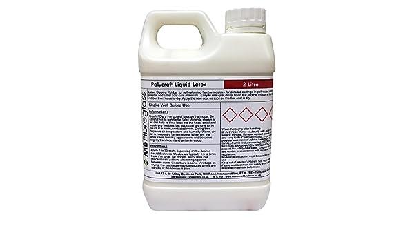 Látex líquido polycraft para hacer moldes, 2 litros: Amazon.es: Bricolaje y herramientas
