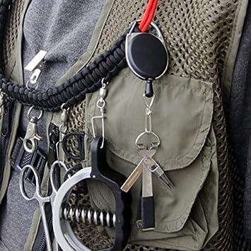 Gebuter Schnellknoten-Werkzeug zum Fliegenfischen Fliegenfischer-Knipser mit Zinger binden