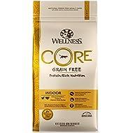 Wellness CORE Natural Grain Free Dry Cat Food, Indoor Chicken & Turkey Recipe, 11-Pound Bag