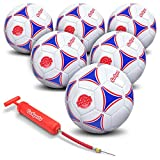 GoSports Premier Soccer Balls x6 (with Pump)