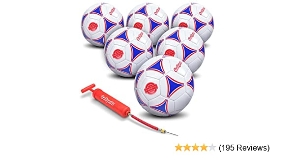 Amazon.com   GoSports Premier Soccer Ball with Premium Pump - Available as  Single Balls or 6 Packs - Choose Your Size   Sports   Outdoors ab07f5c00