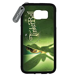 CASECOCO(TM) Peter Pan Samsung Galaxy S6 Case - Protective Hard Back / Black Rubber Sides Case for Samsung Galaxy S6