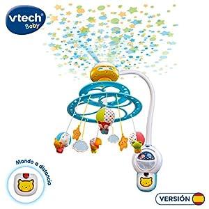 Comprar VTech - Baby Noche Estrellitas, Proyector móvil para bebé, con luces y sonidos relajantes, lámpara/módulo extraíble, mando distancia y temporizador.
