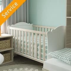 Hire a local pro through Amazon to assemble your baby crib or bassinet, and get great service backed by our Happiness Guarantee.