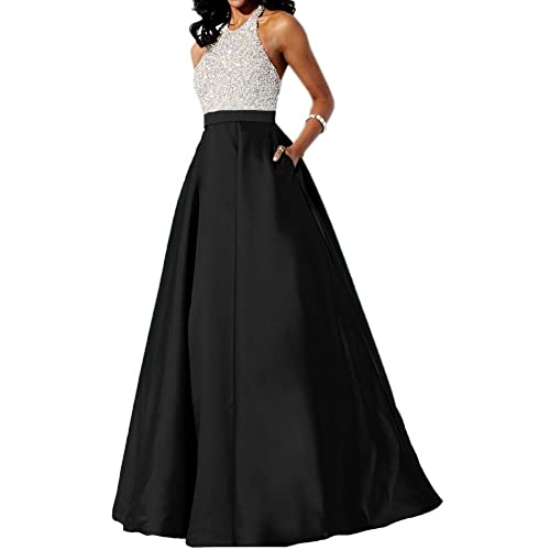Baijinbai Elegant Womens Long Evening Dresses Formal Bridesmaid Cocktail Party Dresses Prom Gowns
