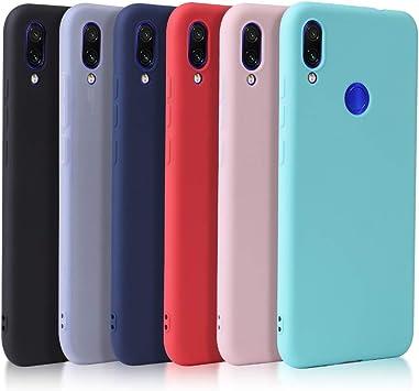 6X Funda Compatible con Xiaomi Redmi Note 7 / Redmi Note 7 Pro ...