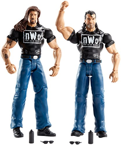 Price comparison product image WWE Battle Pack Series #44 The Outsiders Figure, 2/Pack
