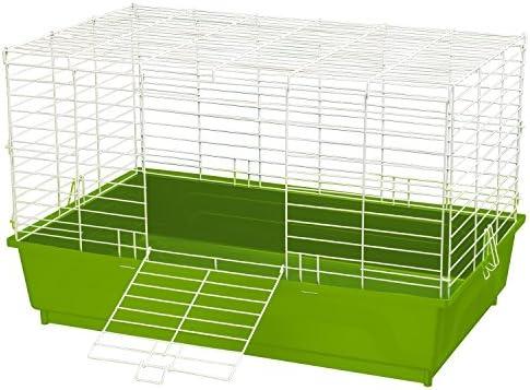 Kaytee mi Primera casa Jaula para Conejos, Grande, Verde (1 Unidad ...