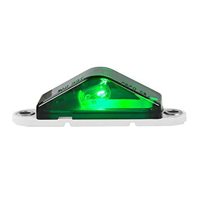 Grand General 80393 Marker Light (Triangle Green): Automotive
