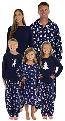 SleepytimePjs Matching Winter Deer Pajamas PJ Sets