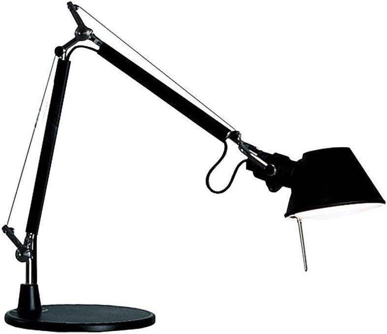 Artemide Tolomeo Micro Lámpara de mesa con Base Negro: Amazon.es ...