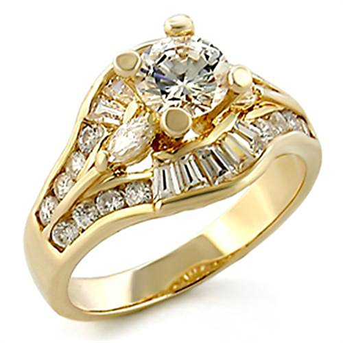 Brilliant 1.0ct Round Cut Cubic Zircon CZ AAA Engagement Ring 5 6 7 8 9 10 44608