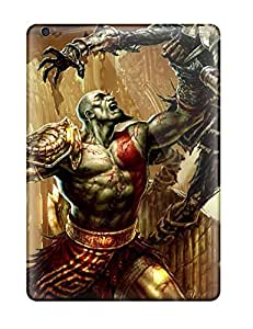 New 2011 God Of War 3 Game Tpu Skin Case Compatible With Ipad Air