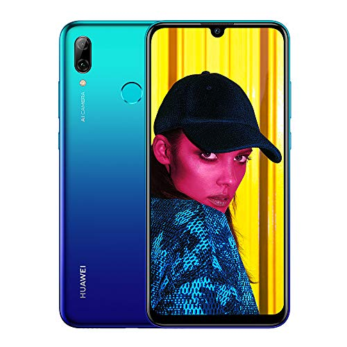 Huawei P Smart 2019 64 GB 6.21-Inch 2K FullView Dewdrop SIM-Free Smartphone with Dual AI Camera, Android 9.0, Single SIM…