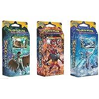Pokemon PK#SM01-IMZ12DI Sole e Luna Carte Collezionabili Pokémon,1 mazzo, modelli assortiti