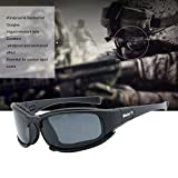 Tactical Eyewear Mens X7 Polarized Sunglasses Motorcycle Cycling Goggles Outdoor Children's Safety Glasses Protective Eye Protection for Cs Toy Men's Eyeshield Polarised Sports Shooting Assaulting