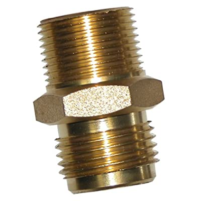 "SuperKlean 8-ADAPT-B Hose Fitting, 3/4"" MNPT x MGHT: Industrial & Scientific"