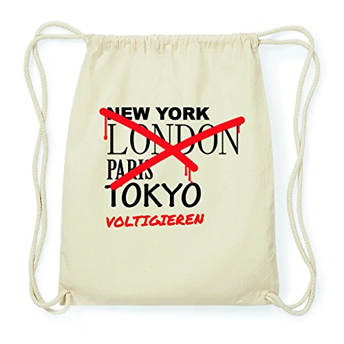 JOllify VOLTIGIEREN Hipster Turnbeutel Tasche Rucksack aus Baumwolle - Farbe: natur Design: Grafitti TwQ2vIlcLu