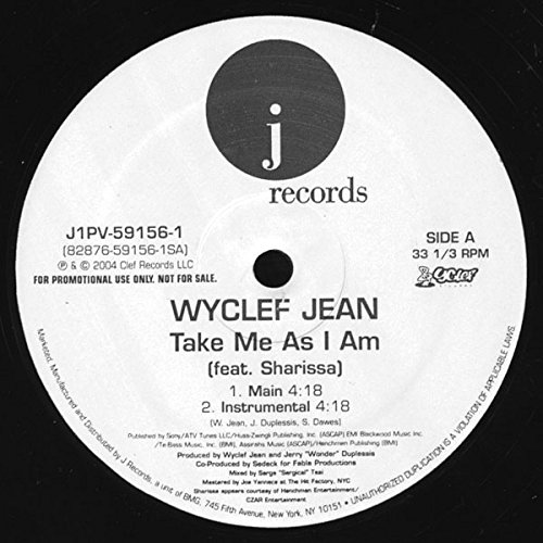 Price comparison product image Take Me as I Am [Vinyl]