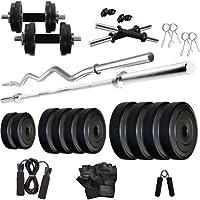 HASHTAG FITNESS 30 kg Home Gym Kit Combo