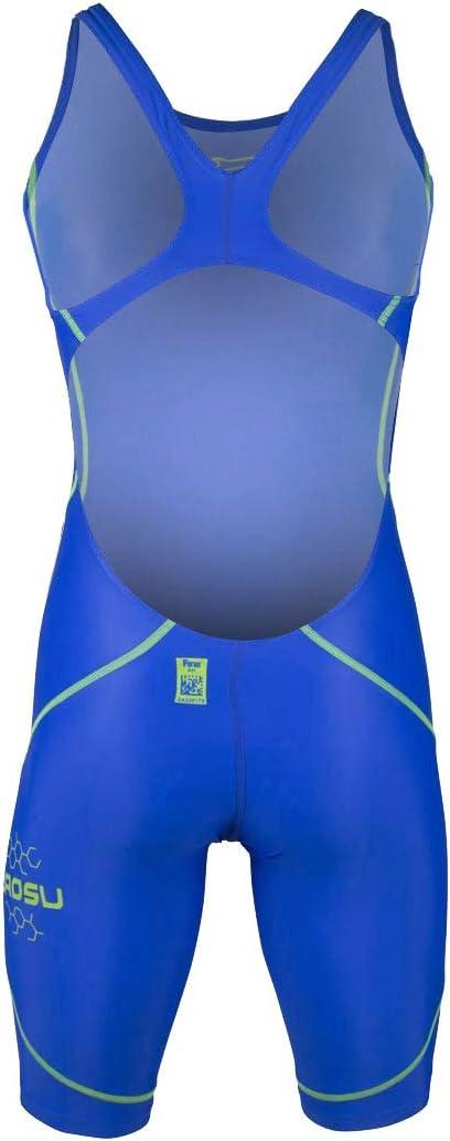 ZAOSU Wettkampf-Schwimmanzug Z-Blue f/ür M/ädchen und Damen in blau