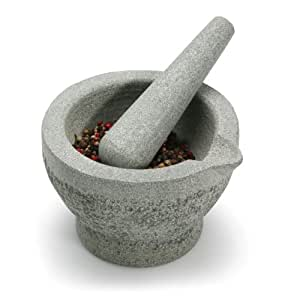 Zen Cuizine 6393608CG Granite Mortar and Pestle