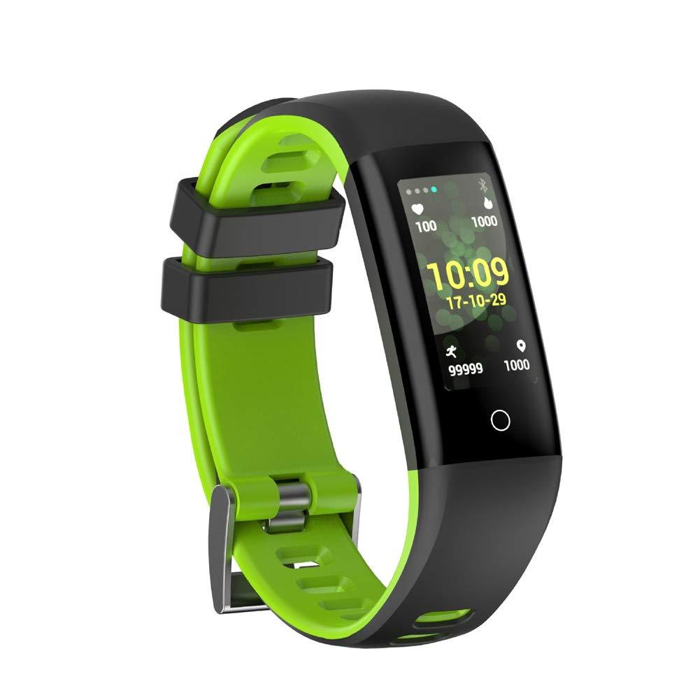 ZGYYDY orologio Sportivo Intelligente Lunga Standby Smart Watch blutooth orologio da Polso Sport Bracciale Multifunzionale Wireleess Schermo Pratico Ip67 Impermeabile verde