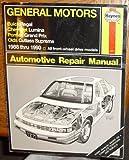 Haynes Buick Regal, Chevrolet Lumina, Olds Cutlass Supreme, Pontiac Grand Prix 1988-90, Robert Maddox, John Harold Haynes, 1850106711