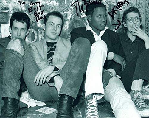 Dead Kennedys Signed Autographed 8x10 Photo by 3 East Bay Ray DH Klaus COA