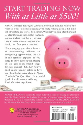 51 CEZw7npL - Option Trading in Your Spare Time: A Guide to Financial Independence for Women
