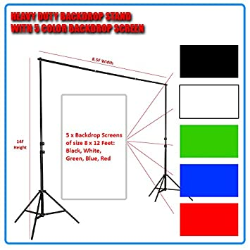 color backdrop buy heavy duty professional grade backdrop cum light stand of