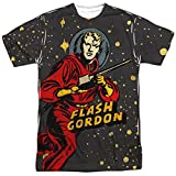 Flash Gordon Blast Off Mens Sublimation Shirt XL White