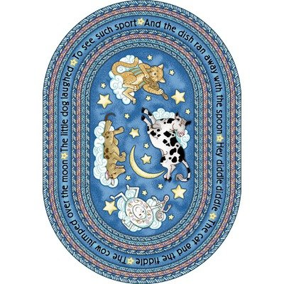 Joy-Carpets-Kid-Essentials-Infants-Toddlers-Hey-Diddle-Diddle-Rug-Blue-310-x-54