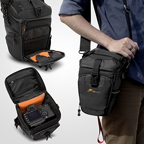 Camera Case, DSLR Camera Bag, rooCASE DSLR/SLR Camera Case Shoulder Bag