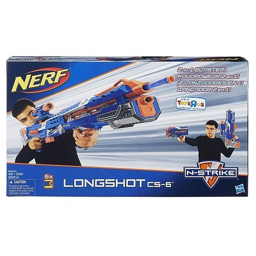 - NERF N-Strike Elite Longshot CS-6 (Blue Version)