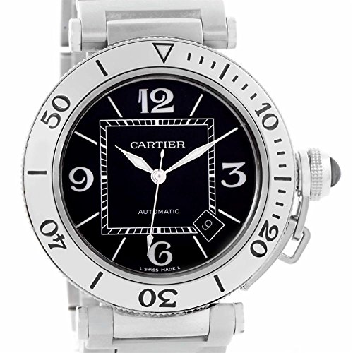 Cartier Pasha automatic-self-wind mens Watch W31077M7 (Certified Pre-owned)