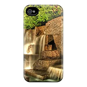 Hot New 3d Waterfalls Cases Covers For Iphone 4/4s With Perfect Design