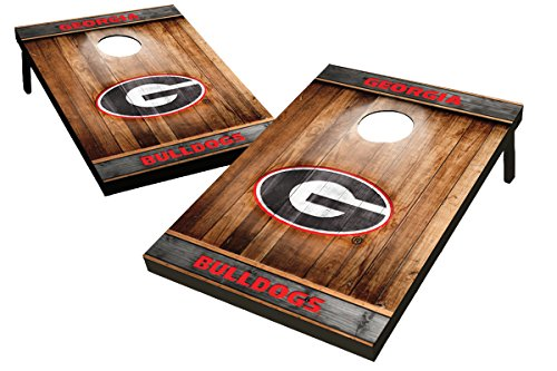 georgia bulldog corn hole - 4